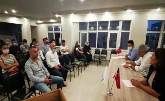 Serap Çakır Gebze ilçe yönetim kurulu toplantısına katıldı