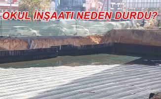 Gebze Osmangazi Ortaokulu inşaatı neden durdu?