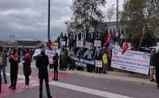 Nafaka Mağdurları Platformu üyeleri toplandı
