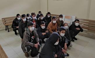 Kocaeli'de 16 kaçak göçmen yakalandı !