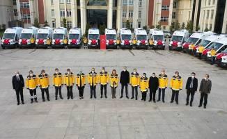 30 yeni ambulans Kocaeli'de!