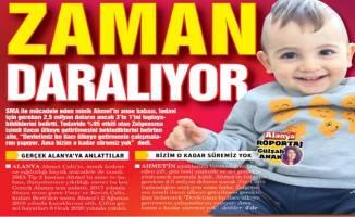 SMA hastası Ahmet için yardım çağrısı yapılıyor