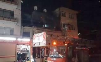 Depo'da patlayan tüp yangına neden oldu!