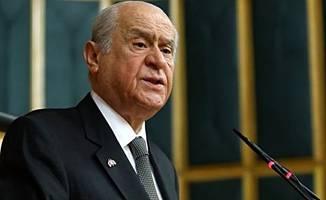 """Devlet Bahçeli""""HDP'ye destek,PKK'ya destektir"""