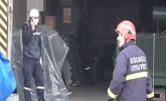 Trafo kazanı üreten fabrikada patlama!