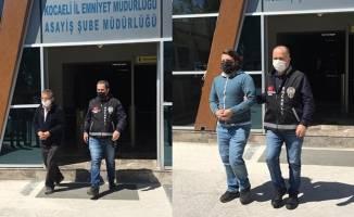 Aranması olan 2 kişi Kocaeli'de yakalandı