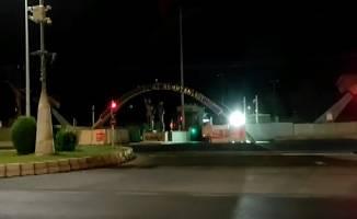 Diyarbakır'da askeri tesise maket uçakla saldırı girişimi!
