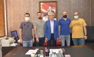112'de görevli doktorlar Türk Sağlık Sen Kocaeli Şubesini ziyaret ettiler