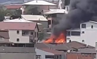 Aynı sokakta 4 binada yangın çıktı!