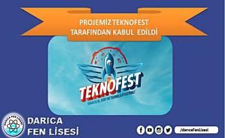 DARICA FEN LİSESİ TEKNOFEST'TE