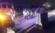 Takla atan araçtaki sürücü hayatını kaybetti!