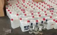 2 ton etil alkol ele geçirildi!