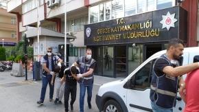 Gebzede bir kişiyi darp edip parasını alan 4 kişi yakalandı.