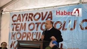 Çayırova TEM Otoyolu OSB Köprülü Kavşakları Açıldı