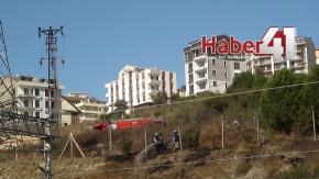 Gebze Tübitak Arazisinde Yangın Çıktı