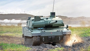 Altay tankı Motoru İlk Marş