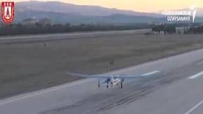 ANKA-Aksungur'un ilk uçuşu