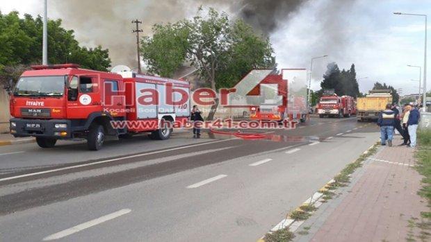 Bayramoğlu'nda Korkutan Yangın