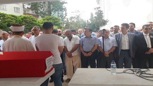 Gebze'li Polis memuru Burak Sancak Son Yolculuğuna Uğurlandı
