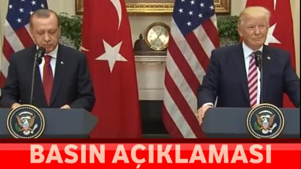 BAŞKAN Erdoğan ve Trump'ın Basın Toplantısı Tamamı!