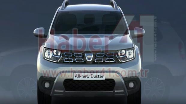 2018 İşte Yeni Dacia Duster