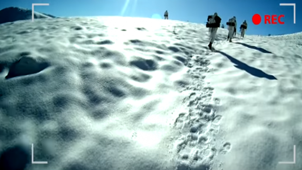 """""""Burada Kar Yok, Fedakarlık Var""""   Jandarmadan Tüylerinizi DİKEN DİKEN Edecek Bir Video!"""