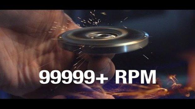 Dünyanın en hızlı stres çarkı tam 99.999 RPM!!