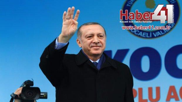 Cumhurbaşkanı Recep Tayyip Erdoğan Kocaeli'de