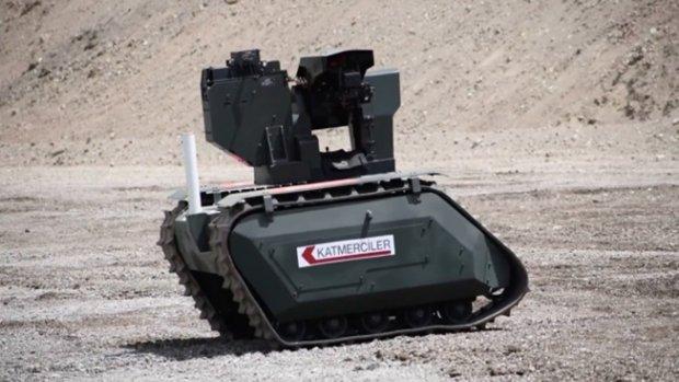İnsansız kara aracı UKAP görev Bekliyor