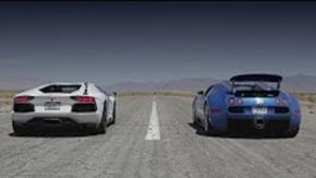 Bugatti Veyron vs Lamborghini Aventador vs Lexus LFA vs McLaren MP4-12C - Head 2 Head Episode 8