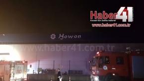 Kartepe Howon Otomotiv'de Yangın