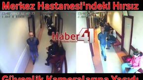 Gebze Merkez Hastanesi#039;ne Giren Hırsız